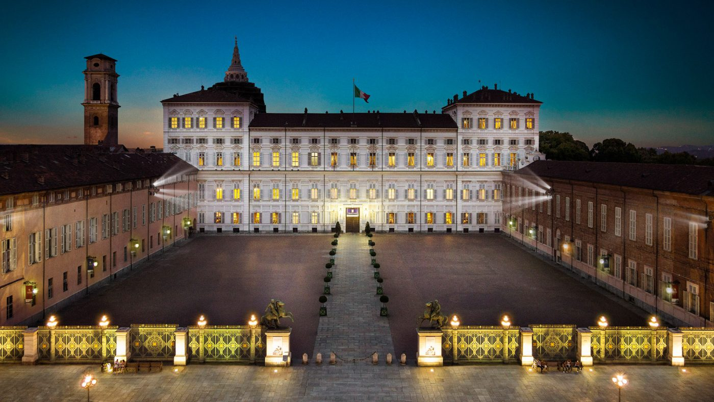 Una notte a Palazzo Reale, Torino