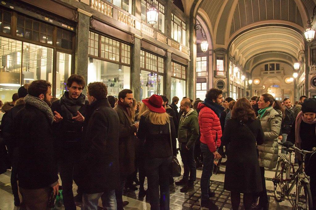Una Notte in Galleria San Federico
